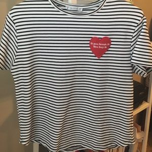 Pull & Bear striped top