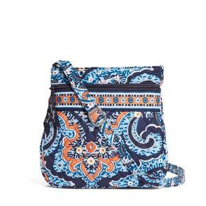 NWT- Vera Bradley Hipster satchel