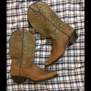 Laredo Shoes - Women's Laredo leather cowboy boots Sz 9