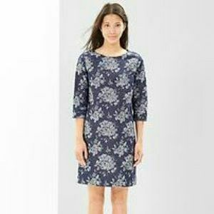 GAP Dresses & Skirts - GAP Floral Denim Dress NWOT