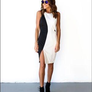 Vici Collection color block dress