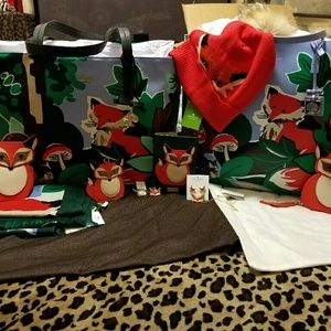kate spade Bags - Kate Spade Blaze A Trail Forest Scene Collection