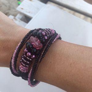 handmade Jewelry - Winter resort 2016 holiday coil cuff
