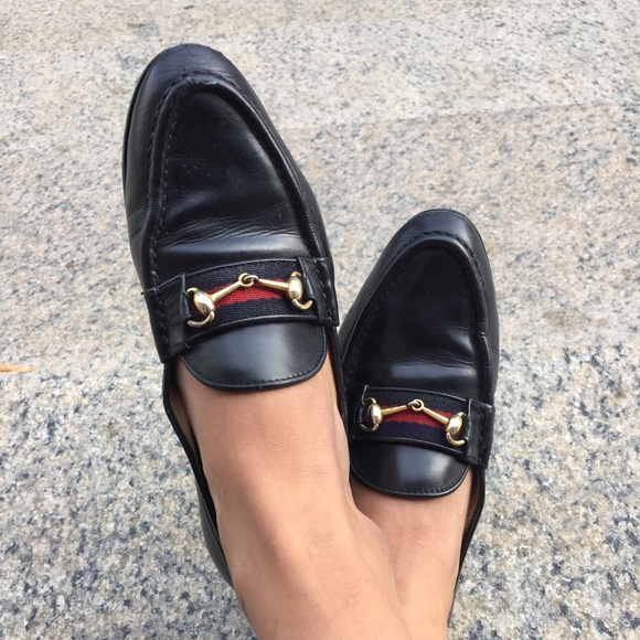 8b97eb8150ba6b Gucci Shoes - Vintage Gucci horsebit loafers