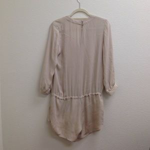 3896981b976 Mason Pants - Mason Nude Silk Long Sleeve Romper