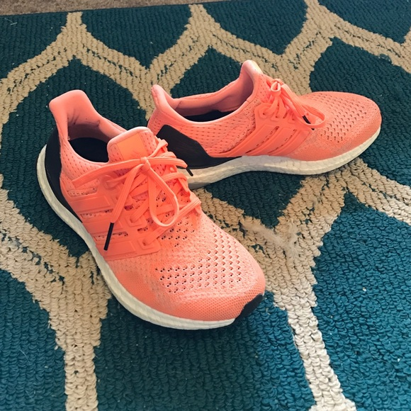 peach color adidas