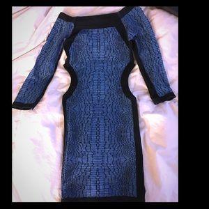 Side cut-out Bebe dress