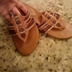 Danelle Shoes - Leather Like New Sandals.