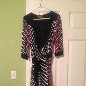 Nicole Miller wrap dress!