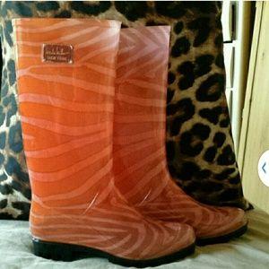 Nicole Miller rain boots