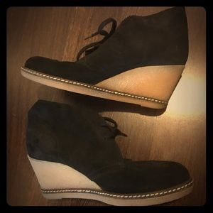 J Crew MacAlister Wedge Boots size 6
