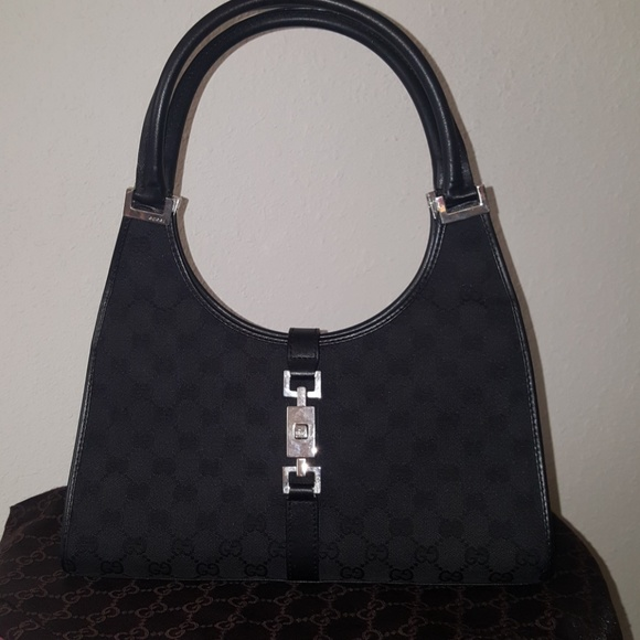 87394c0692eb Gucci Handbags - Sale! Authentic Gucci Bardot monogram hobo handbag