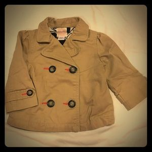 Old Navy Pea Coat size 6-12 months