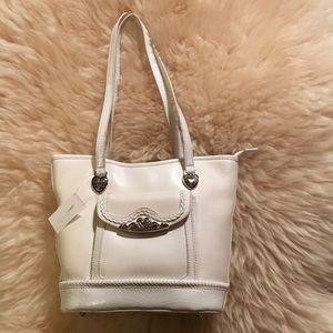 No Brand Handbags - NWT Pretty White Medium Shoulder Bag.