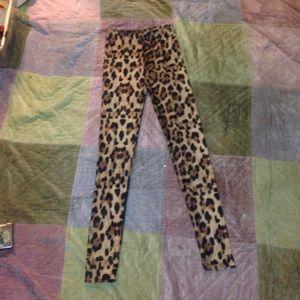 simplicity Pants - Leopard pants
