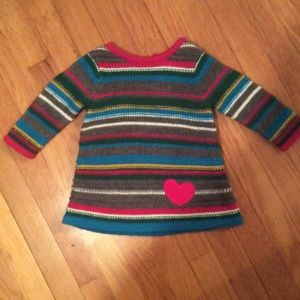Hanna Andersson Other - Hanna Andersson Knit striped rainbow tunic dress