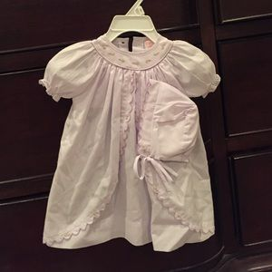 Other - Light purple newborn gown and bonnet. Nwot