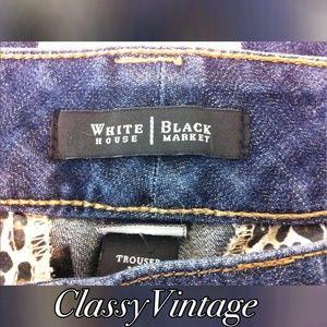White House Black Market Denim - White House Black Market trouser jeans.