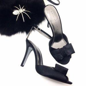Martinez Valero Shoes - Martinez Valero Cocktail Heel • Bows & Rhinestones