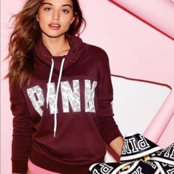 PINK Victoria's Secret - VS PINK cowl neck sweatshirt from ...