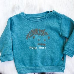 Free Hugs Pullover by Imps & Elfs Sweater Baby