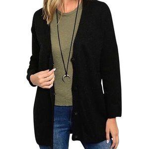 Southern Girl Fashion Sweaters - BOYFRIEND CARDIGAN Fuzzy Sweater Oversized Jacket
