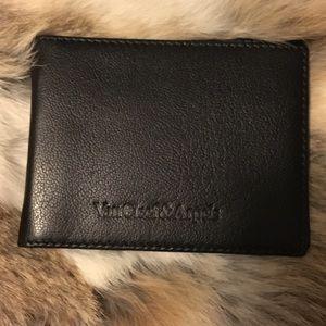 🆕 Van Cleef & Arpels Leather Wallet Money Clip