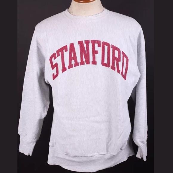 Champion - Vintage Champion Reverse Weave STANFORD sweatshirt from ...
