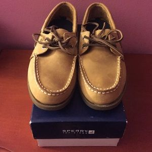 Sperry Top-Sider Shoes - Sahara leather Sperry, size 3.5 boys (6 in women)
