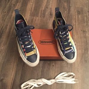 Missoni Shoes - SUPER RARE Missoni converse. Women's 6.5