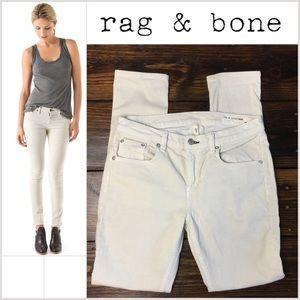 rag & bone Pants - Rag and Bone sz 29 Skinny Corduroy Pants in Beige