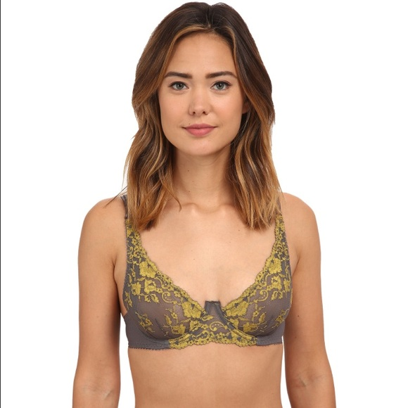 e94df0f30ad Free People Other - Free People Purple Underwire Lace Bra