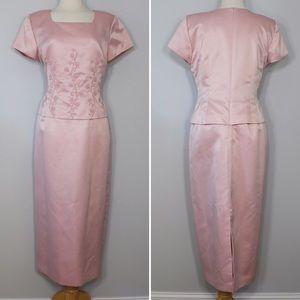 Dresses & Skirts - Vintage Floral Beaded Dress