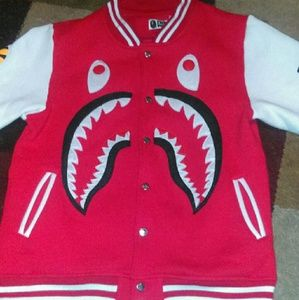 Red Jacket Other - Bape
