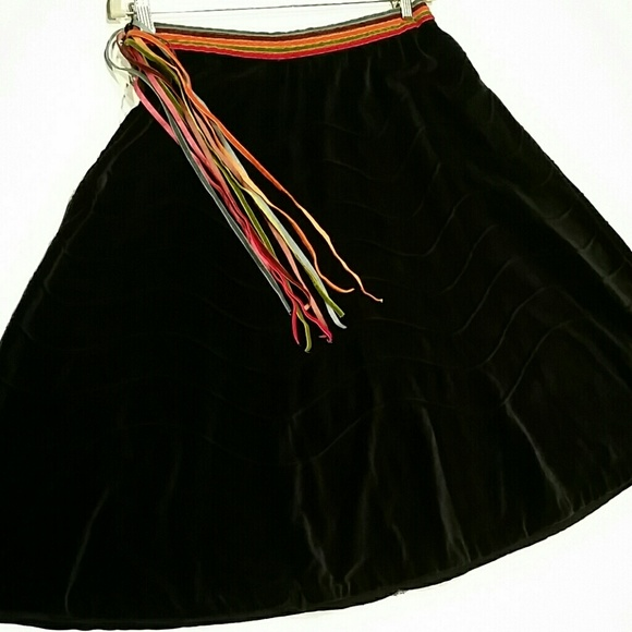 02ab4af8cf Anthro IPSA Velvet Skirt Please Read If Interested.  M_582be3bb713fded54302a224