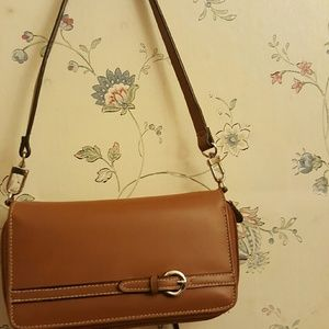 Unbranded new tan faux leather small  bag