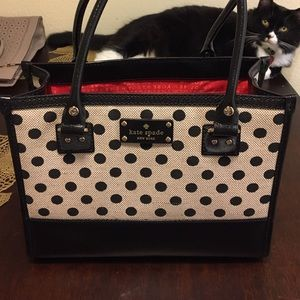 Listing not available kate spade other from madisons closet on kate spade purse kate spade polka dot purse junglespirit