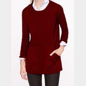 J. Crew Sweaters - J. Crew Merino Pocket Tunic