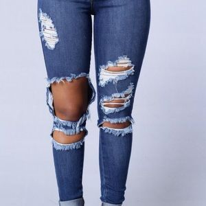 Fashion Nova Denim - Beach Bum Jeans