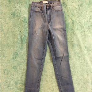 Fashion Nova Jeans - Classic High Waist Jeans - Light Blue