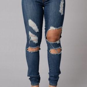 Fashion Nova Denim - Boardwalk Jeans