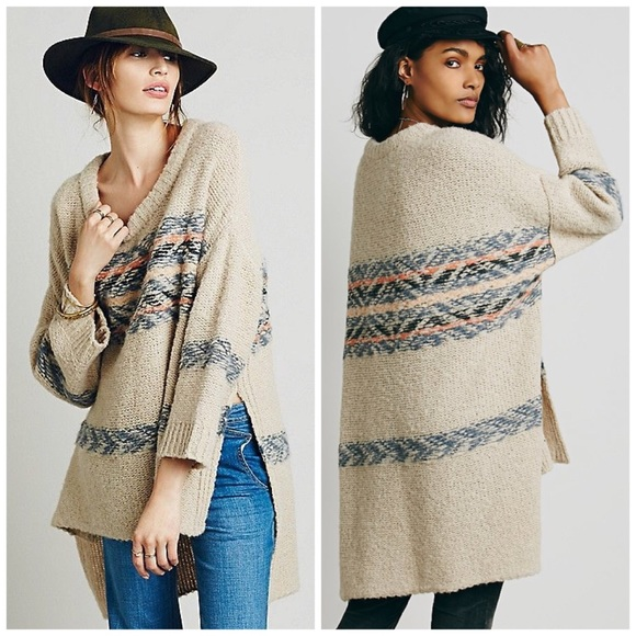 66% off Free People Sweaters - NWT Free People Alpaca Fair Isle ...