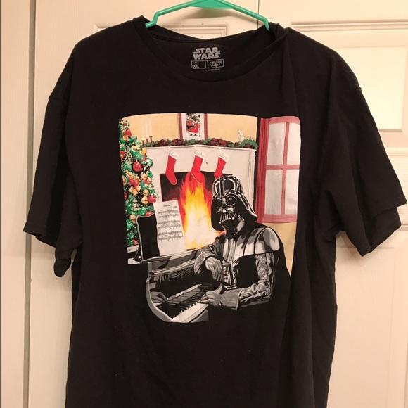 funny darth vader star wars christmas t shirt
