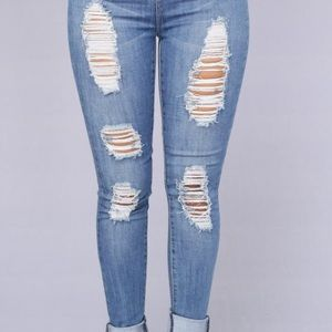 Fashion Nova Jeans - Off Shore Jeans