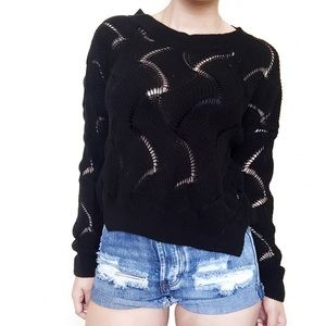 • Urban Outfitters • Black Knit Sweater