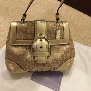 Coach Handbags - 💯% Authentic Pre-loved Coach Mini-Bag