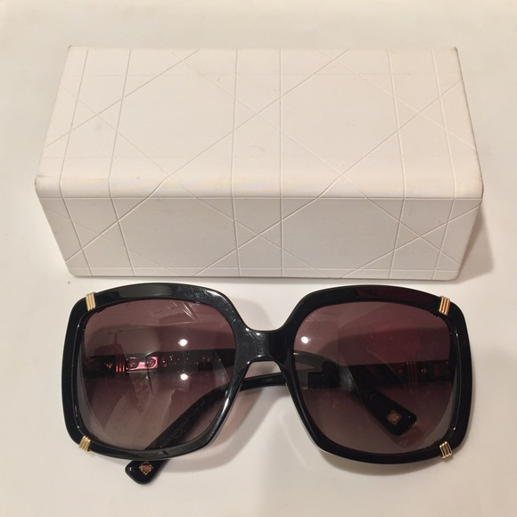 14532cd9aa Christian Dior Accessories - Christian Dior oversized sunglasses