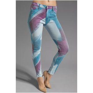 Hudson Nico Mid-Rise Super Skinny Jeans Bomb It