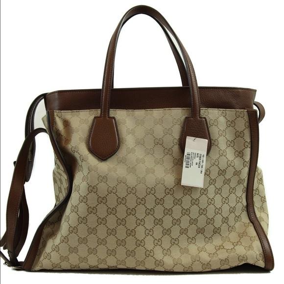 5b774612fc Gucci Bags | Original Gg Canvas Ramble Tote Bag | Poshmark