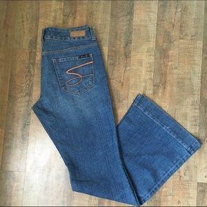Seven7 Denim - SEVEN Sexy Flare Jeans
